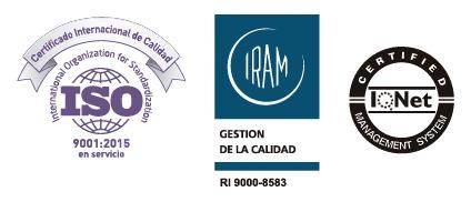 IRAM, ISO nuevo certificado de calidad
