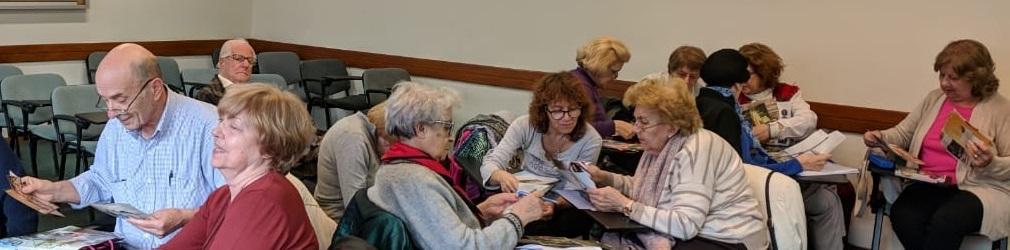 agenda compartida para los adultos mayores